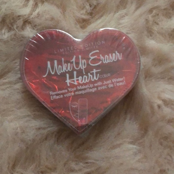 NEW & SEALED Limited Edition Makeup Eraser Heart